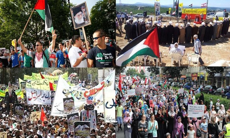 Worldwide Protests in Action for International Quds Day