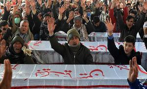 Pakistan's Shia Muslims continue protest, refuse to bury d...