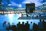 Kaaba In Night